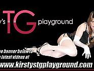 Smoking Hot Tgirl Kirsty Fucks Toys And Wanks Her Cock
