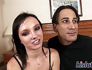 High Heels Chick Fucked And Mouth Filled With Cum