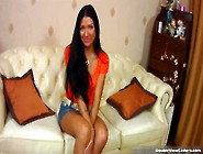 Sexy Hot Skinny Body Nasty Brunette Teen Elizabeth Gets Nude And