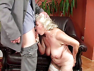 Ugly Pale Old Bitch With Droopy Boobs Gets Her Mature Disgusting