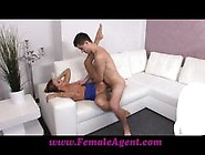 Horny Babe Gets Her Pussy Filled With Thick Cum