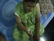 Indian Aunty Giving Handjob
