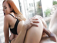 Ginger Wife Gets Mind-Blowing Crying Orgasm With Lustful Lover