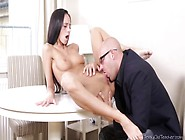 Guys Plan To Start With Veronika's Boobs And Work His Way Down W