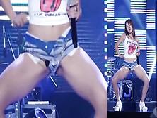 Korean Kpop Bambino Wearing No Panties (Slow Motion)