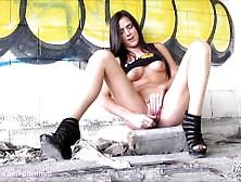 Kaley Kade Masturbates On Pornhub Set