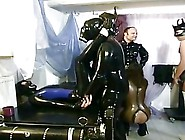 Three Girls Inside Latex Having Fucked