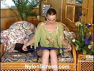 Nellie And Morris Pantyhose Paramours In Actionion