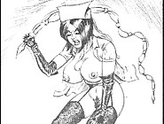 Whipped And Marked Fiendish Femdom Bdsm Art Cartoons Comics