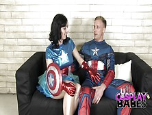 Captain America Miss America Cosplay