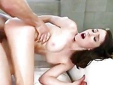Teen Raylin Ann Taked Her First Big Cock