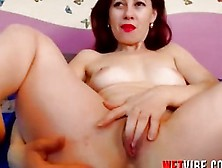 Horny Wet Milf Pussy Is Ready For Wetvibe Sex Toy Action Play No