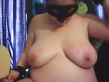 Thick Spatula Beating For Saggy Tits