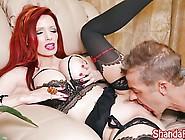 Milf Shanda Fay Makes Him Cum And Eat It!