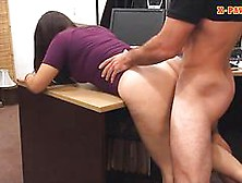 Babe With Glasses Boned By Pawn Guy While Her Friend Watches
