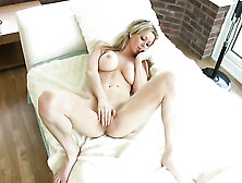 Lucy Alexandra Has A Nice Time Dildoing Her Slit