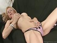 Goodly Blonde Masturbating Pussy And Getting Nailed Hard