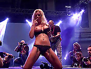 Hot Big Breast German Milf Sex Show On Public Sexfair Show Stage