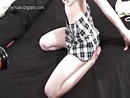 The Female Orgasm: Patrycja Bottoms Up