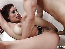 Busty Latino Slut Layla Rivera Plays Pool And Gets Smashed On Th