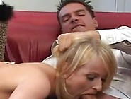 Youngest Pussy Close By 2 Roosters Inside Her Mouth