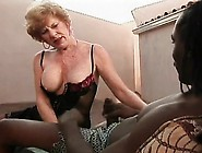 Kinky Blonde Mom In Lingerie Diane Richards Is A Sucker For Blac