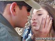 Under Cover Cop Latina Deepthroats On The Border