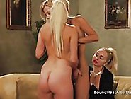 Mistress And Handmaiden:lesbian Sex Play For Dominant Madame