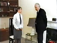 English Schoolgirl Disciplined By Old Fart