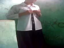 Bhutanese Nepali Girl In Uniform Fucks In Public Toilet Resultin