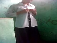 Bhutanese Nepali Girl In Uniform Fucks In Public Toilet Resultin