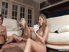 Babes Play Cards And Become A Bit Horny Hd
