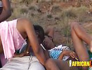 South African Sex Picnic Out In The Dirt