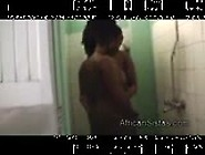 Amateur Afro Nelly Goes Dirty While Takes Shower With Ebony Girl