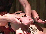Hot Redhead Gets Humiliated And Punished
