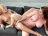 Wild Lesbian Porn Star With Big Beautiful Tits Getting Her Pussy