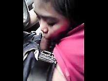 Asiansexporno. Com - Malay Girlfriend Blowjob Inside Car