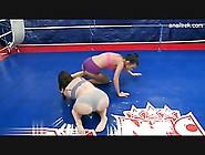 Hot Lesbian Wrestling Match