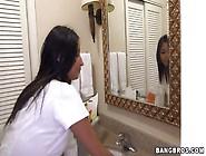 Latina Maid Needs A Terrific Pecker
