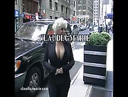 Claudia Marie Cums To New York