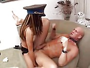 Fucking Slave With Strapon