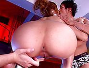 Japanese Babe Anna Anjou Has A Blast During A Threesome