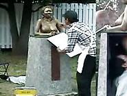 Zenra Naked Statue