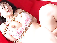 Pretty Asian Brunette Plays Bondage Games With Horny Man