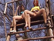 Lesbian Girls Pissing Video