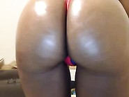 Morgana Black Ebony Ass Drilled By Two Black Cocks