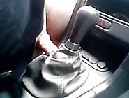 Car Fuck, Auto Fick,  Volvo V70 Schaltsack Ficken,  German