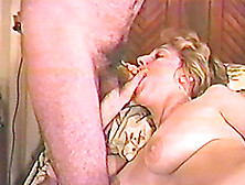 Busty Mature Blonde Sucks A Cock In Homemade Video