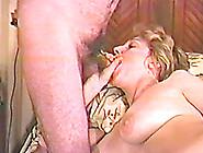 Busty Mature Blonde Sucks A Cock In Homemade Video
