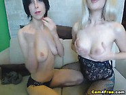 Lesbian Babes In A Heated Girl To Girl Sex